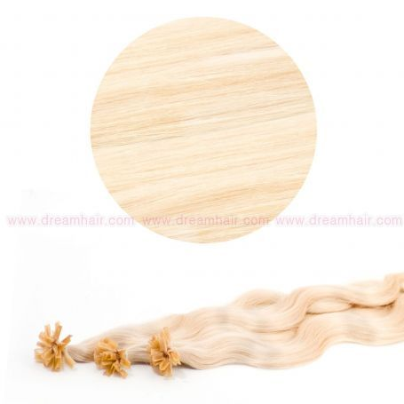 Nail Tip Hair Extension B-Wave 50cm 613#