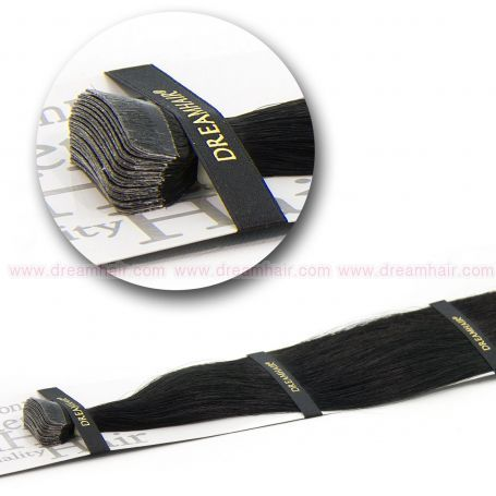 DreamHair Slavic Tape-In Extension 40cm / 20pcs / 1B#