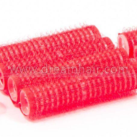 Tarrarullat 13mm Punainen 12kpl