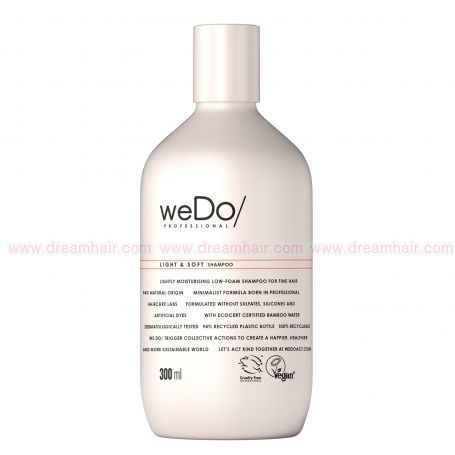 weDo Professional Light & Soft Shampoo 300ml