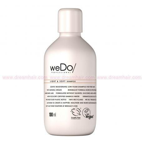 weDo Professional Light & Soft Shampoo 100ml