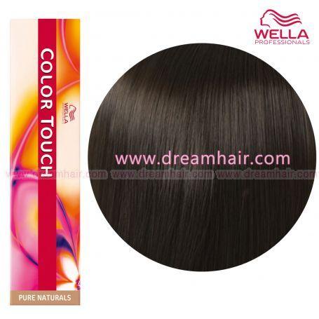 Wella Color Touch Demi Permanent Hair Color 60ml 4/0