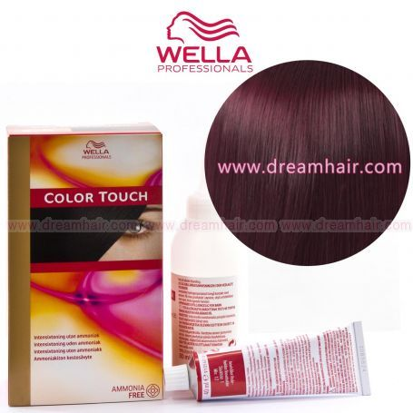 Wella Color Touch Demi Permanent Hair Color Home Kit 4/57