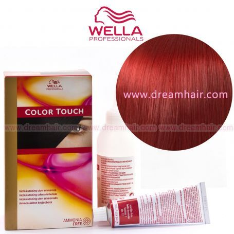 Wella Color Touch Demi Permanent Hair Color Home Kit 66/45