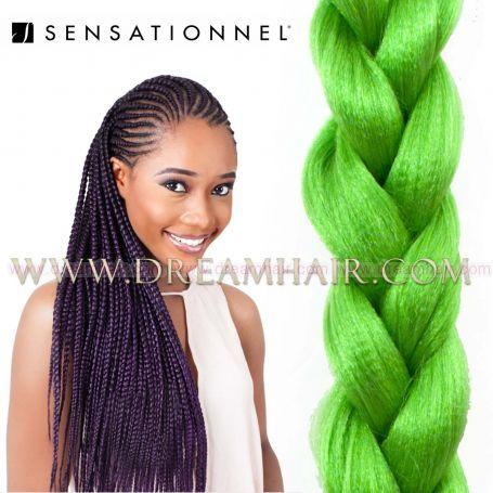 X-Pression Ultra Braid Green
