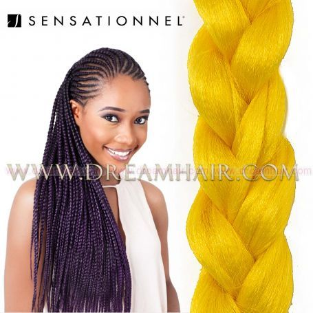 X-Pression Ultra Braid Yellow