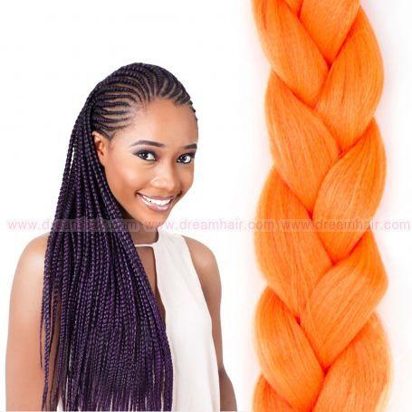 X-Pression Ultra Braid Orange