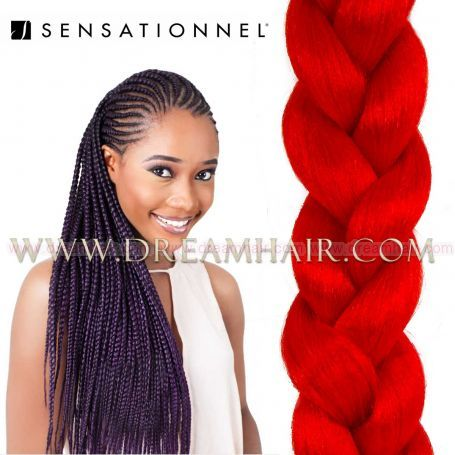 X-Pression Ultra Braid #RED