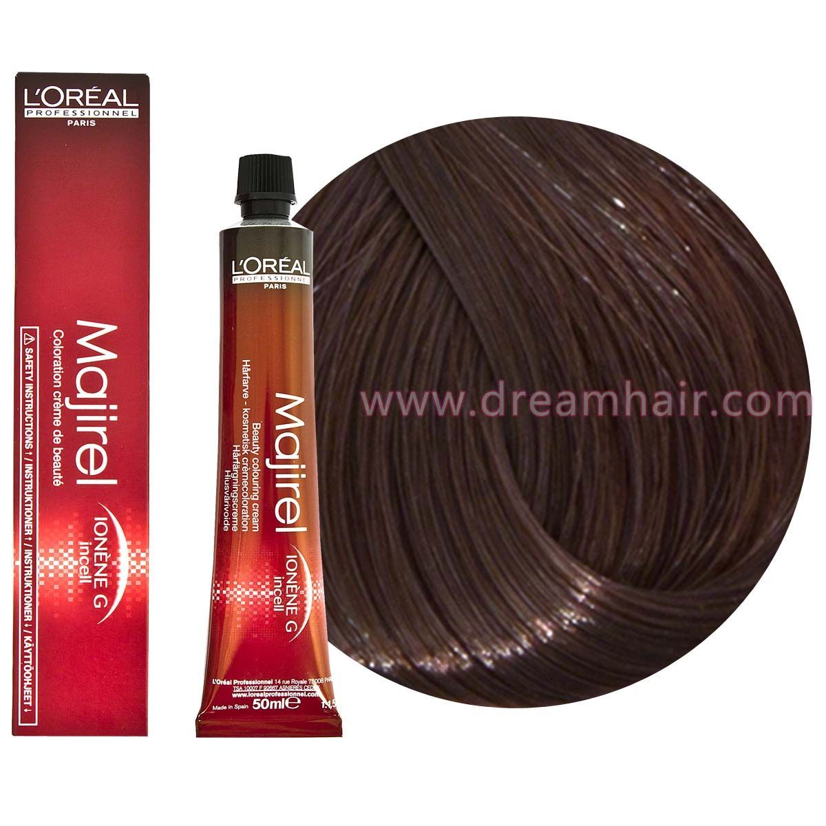 Loreal Majirel 58 Loreal Majirel Permanent Hair Color Hair Color