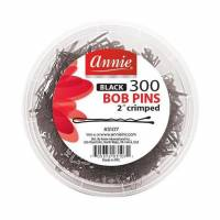Bob pins black 300ct/jar 2