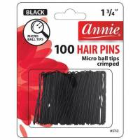 Hairpins Black Micro Tip 100ct