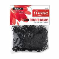 Rubber Bands Black (M) 300pcs
