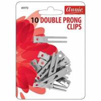 Double Prong Clips 10pcs