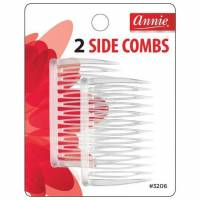 Side Combs (M) White 2pcs