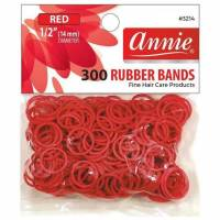 Rubber Bands Red 300ct