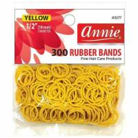 Rubber Bands Yellow 300pcs