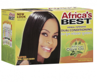 Africa's Best Herbal Intensive Dual Conditioning Relaxer System Super