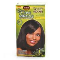 African Pride Olive Miracle No-Lye Relaxer Regular 1 Touch Up