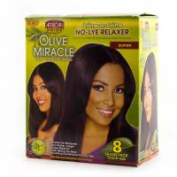 African Pride Relaxer Kit Super - Salon Pack 8pcs