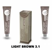 Apraise Eyelash and Eyebrow Tint Light Brown 3.1#
