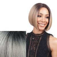 Bobbi Boss Lace Front Wig MLF126 Lyna 3T1B/GWHT#