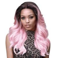 Bobbi Boss Lace Front Wig MLF328 Kylie TT4/B.PINK#