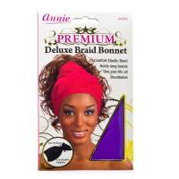 Deluxe Braid Bonnet Purple