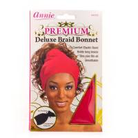 Deluxe Braid Bonnet Red