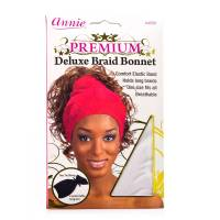 Deluxe Braid Bonnet White