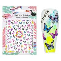 Nailart Sticker Butterfly 4
