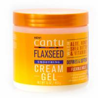 Cantu Flaxseed Sulfate Free Smoothing Cream Gel 453g
