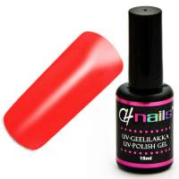 CH Nails Gel Lack Neon Flame Red