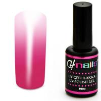 CH Nails Thermo Gel Lack Magenta-White