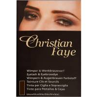 Christian Faye Eyebrow / Eyelash Dye BrownBlack