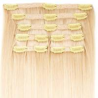 Premium Clip-In Hair Extension 7-pcs 140g/50cm 1001#
