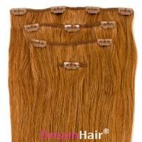 Clip-In Hair Extension 4pcs 60cm 12#