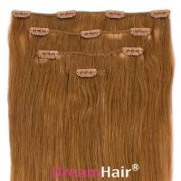 Clip-In Hair Extension 4pcs 40cm 18#