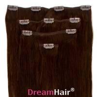 Clip-In Hair Extension 4pcs 60cm 2#