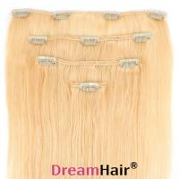 Clip-In Hair Extension 4pcs 40cm 613#