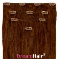 Clip-In Hair Extension 4pcs 40cm 6#