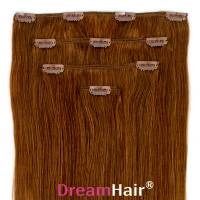 Clip-In Hair Extension 4pcs 40cm 8#