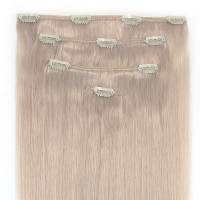 Clip-In Hair Extension 4pcs 40cm Whiteblond#