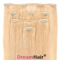Clip-In Hair Extension 4pcs 60cm Whiteblond