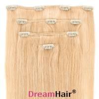 Clip-In Hair Extension 4pcs 60cm Whiteblond