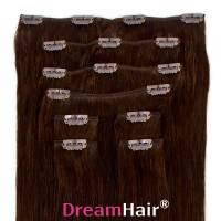 Clip-In Hair Extension 8pcs 40cm 2#