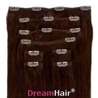 Clip-In Hair Extension 8pcs 50cm 2#