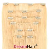 Clip-In Hair Extension 10-pcs 45cm 613#