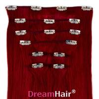 Clip-In Hair Extension 8pcs 50cm BUR#