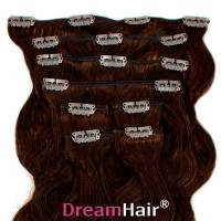Clip-In Hair Extension 8pcs Wave 40cm 2#