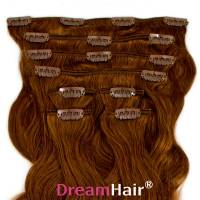 Clip-In Hair Extension 8pcs Wave 40cm 6#